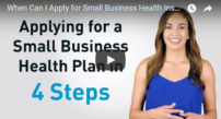 apply for small business health insurance