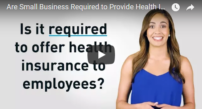 are small business required to provide health insurance