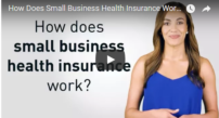 small business health insurance work